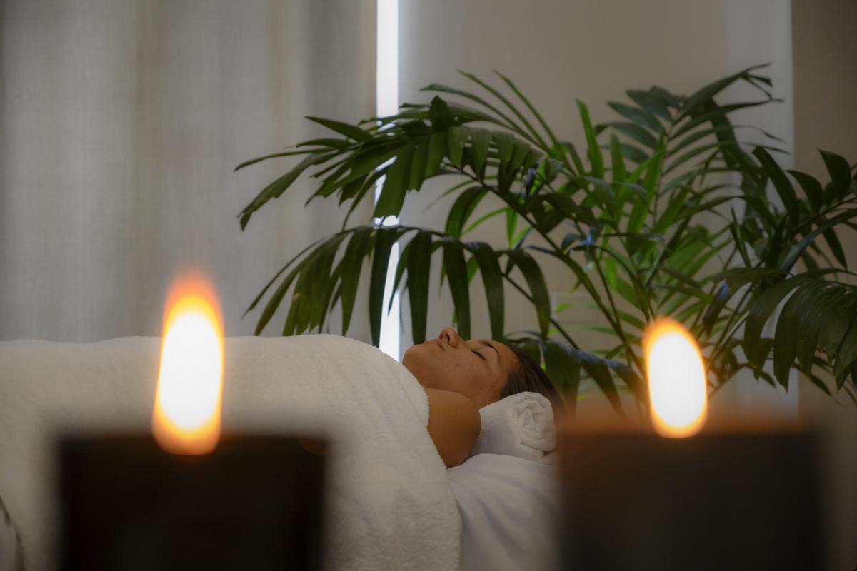 La música para masaje relajante