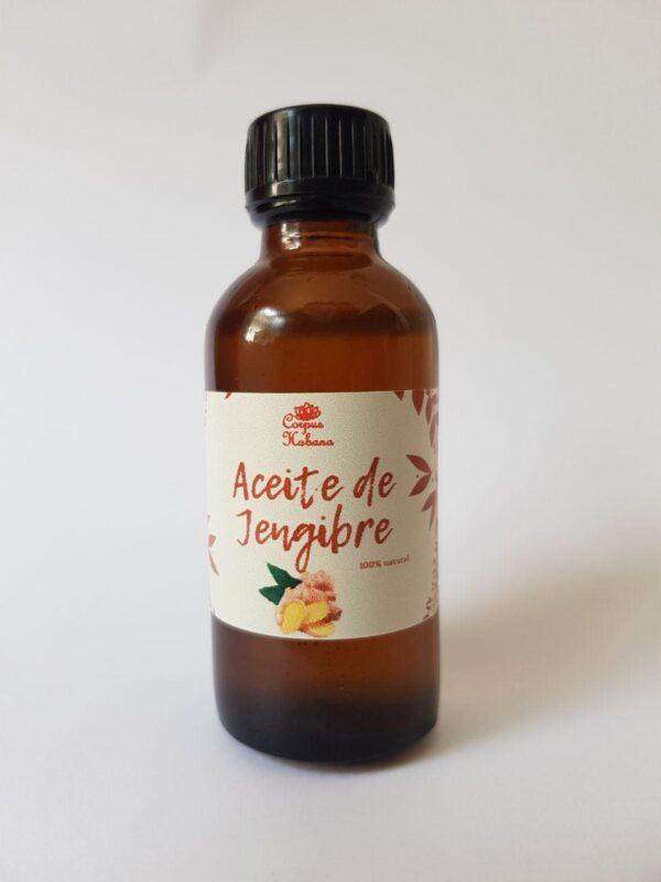aceite de jengibre